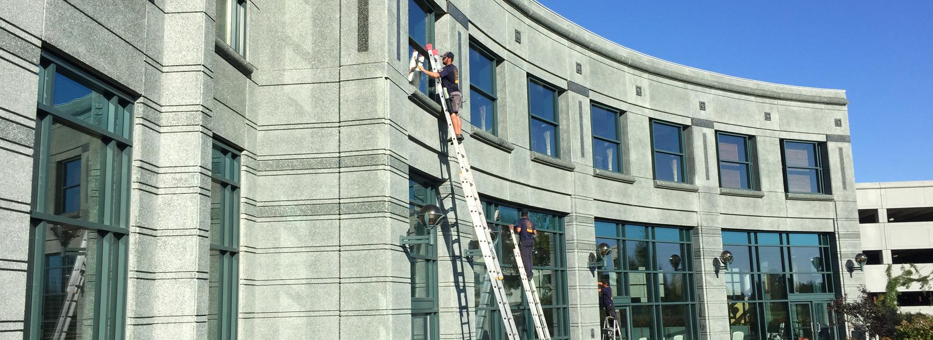 lavage de vitres à Ottawa