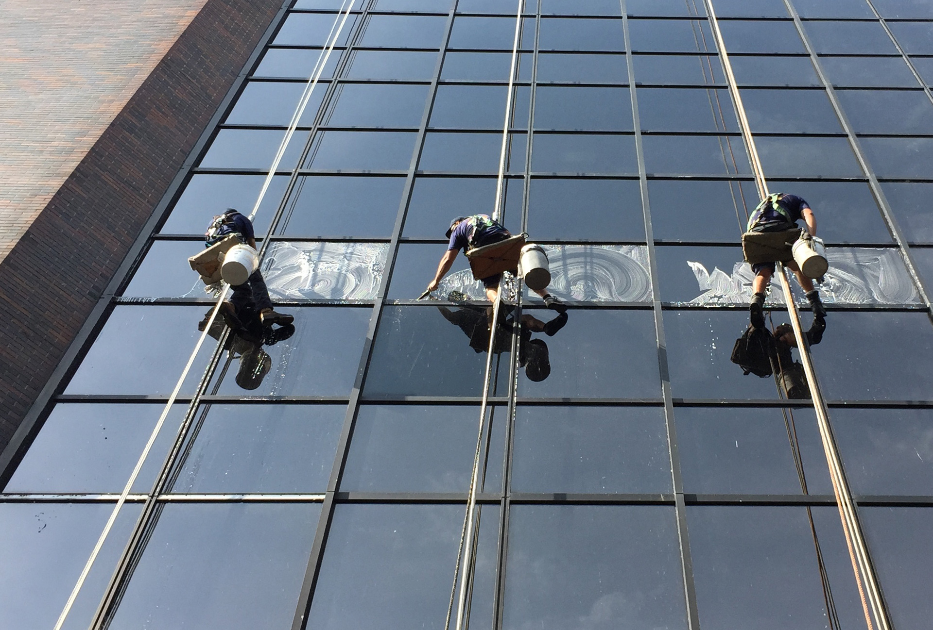Professional High Rise Window Cleaning Dl Building Services